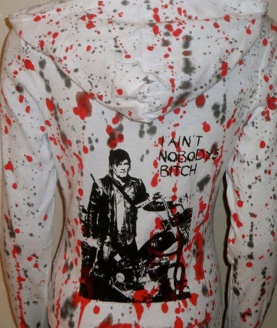 DiY The Walking Dead Daryl Dixon Hoodie You choose by ellensdiy