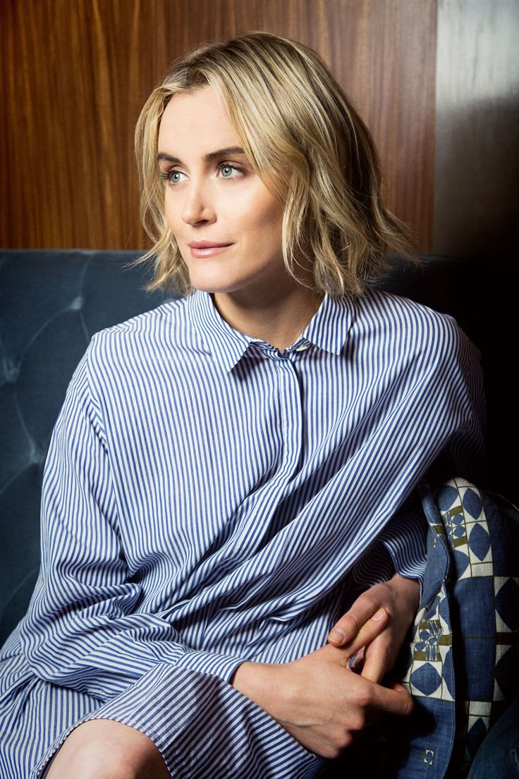 """Piper is getting to this place where she can actually own her sadness in a way. She's finally outside of the grid of green juices and boutique fitness. All of that distraction is gone, and all that's left is...well, her."" Taylor Schilling talks Orange is the New Black and how Piper's mentality has impacted her own life."