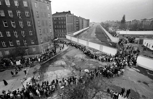 Berlin ~ Berlin/Brandenburg Metropolitan Region ~ Germany ~ The Berlin wall goes through the city