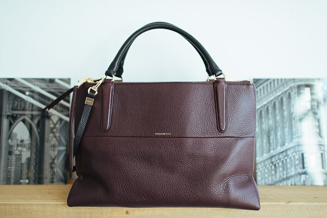 How flippin' gorgeous is this Oxblood Coach Borough Bag? If only I had $550 to spare!
