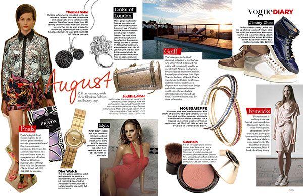 Image result for 2010 vogue magazine spread