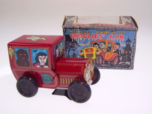 Gscom-gspkw-FRANKENSTEIN-034-groolies-car 034-Yone-12cm-NEW-NEW-NEUF-in-box