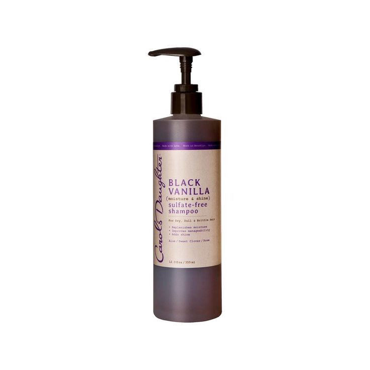 Carol's Daughter Black Vanilla Moisture and Shine Sulfate-Free Shampoo