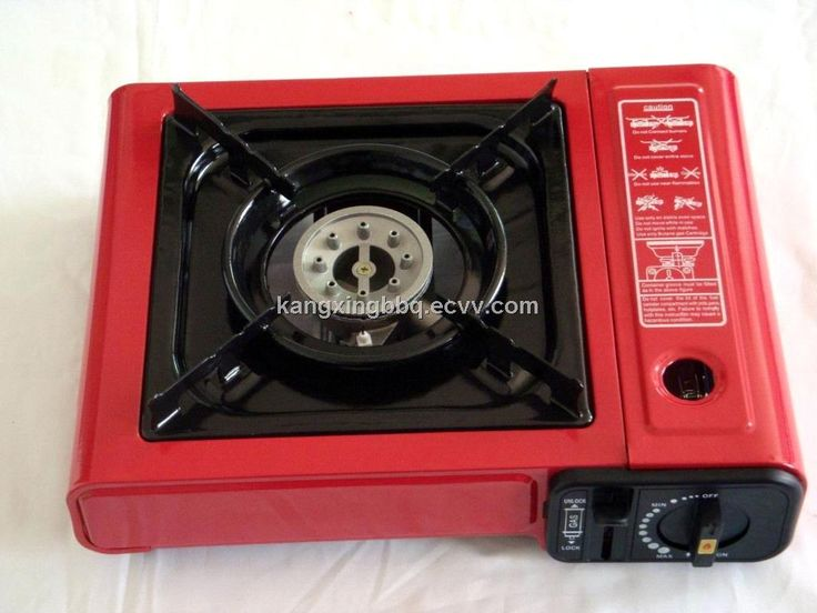 Butane Gas Stove/Camping Gas Grill- you can make a dinner or boil a cup of tea on the top of mountain with gas stove.
