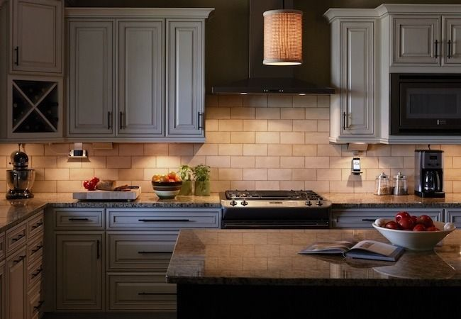 Great combo of fashion and function with this under cabinet lighting.