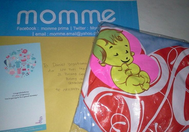 momme pregnancy gift from hubby daniel for his wife.. soo sweet... SEMARANG
