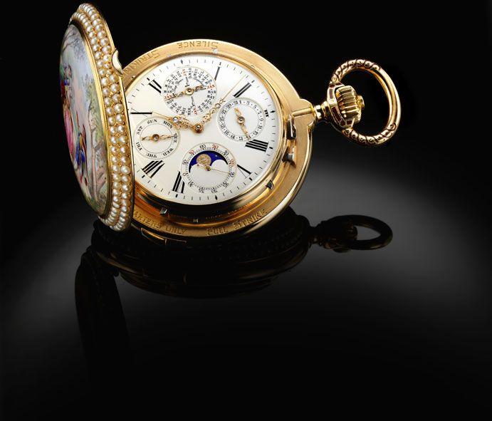 Complication pocket watch, La Vallée de l'Arve, Bronze medal, Paris World Fair, 1889. #watch #luxurywatch #vintagewatch #parisworldfair