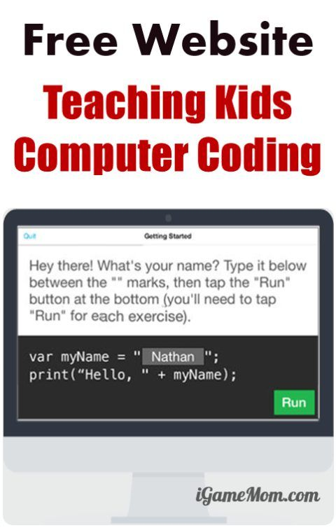 A website dedicated to teaching kids computer coding for free. Different from many other computer coding programs, this site teaches kids how to write actual codes, instead of coding blocks with images. The short lessons are interactive activities, so it is still fun. If your kids are ready to learn serious computer programming, this is a good place to start.