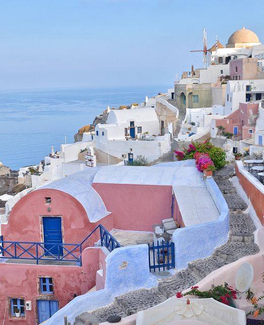 Oia village, Santorini island, Greece. - Selected by www.oiamansion in Santorini.