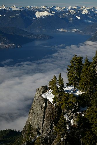 Off of the Howe Sound Crest Trail, Vancuver BC