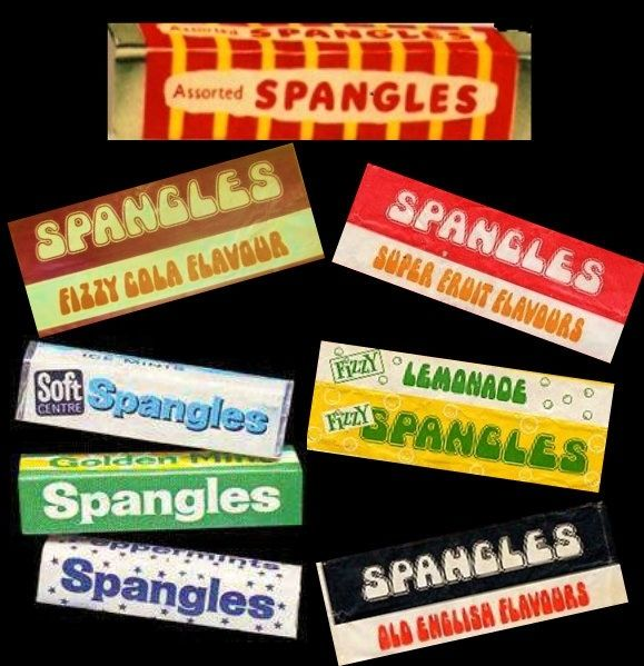 Spangles Flavours - loved the Coca Cola one! #spangles #sweets #1970s