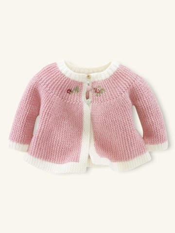Ralph Lauren Hand-Knit Embroidered Cardigan