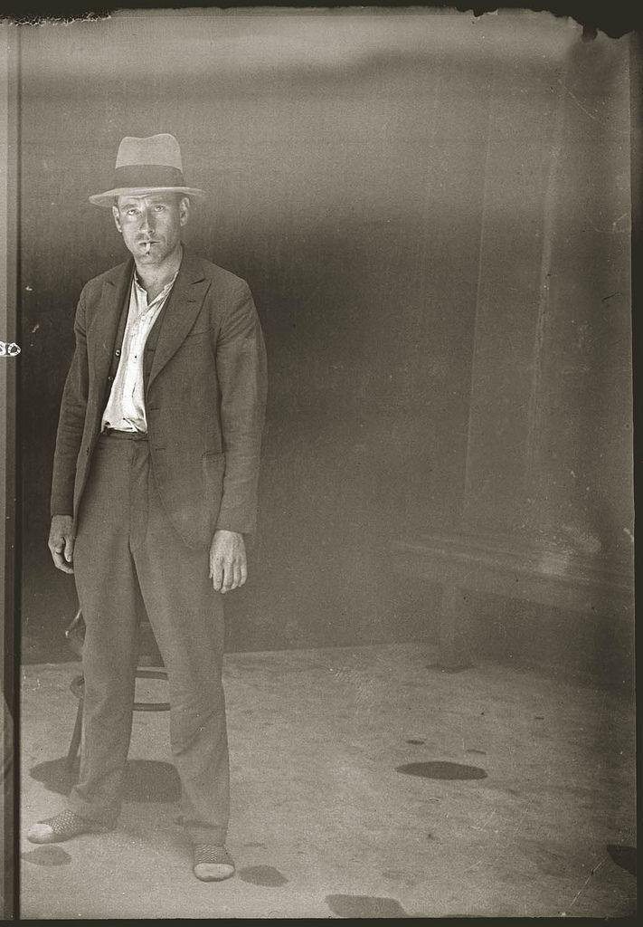 vintage mugshot | Australian mugshots taken in a Sydney police station in the 1920's