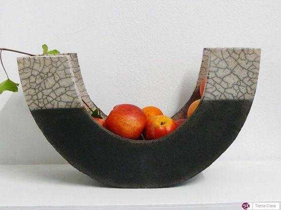 Raku Bol Bol de Fruits céramique potterie par CeramicStudio                                                                                                                                                                                 Plus