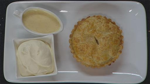 Apple Pie and Vanilla Custard