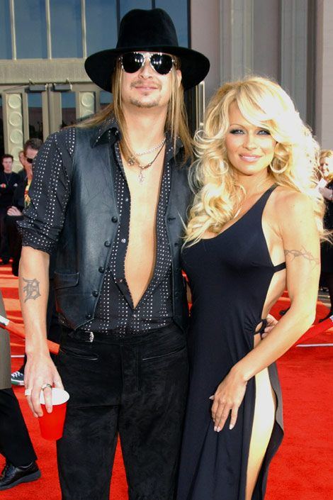 Pam Anderson and Kid Rock...A Short-Lived, Seemingly Unhappy Marriage...& A Nasty Split...