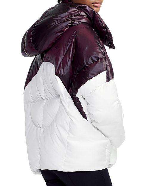abe5b4c6be Maje - Brax Two-Tone Puffer Jacket