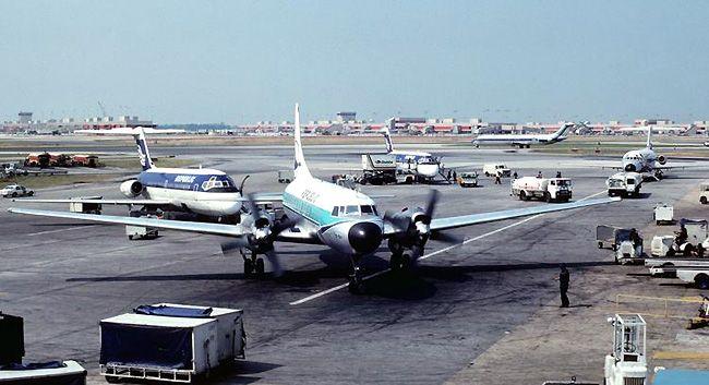 Republic Airlines at Atlanta in 1980