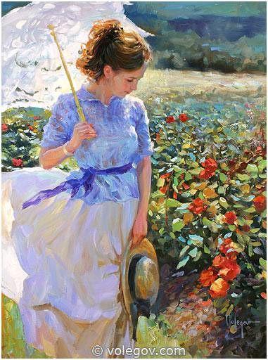 Vladimir Volegov S Art Painting She Walks In Beauty
