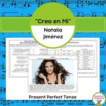 These activities are meant to help students learn how to use the present perfect tense in Spanish.