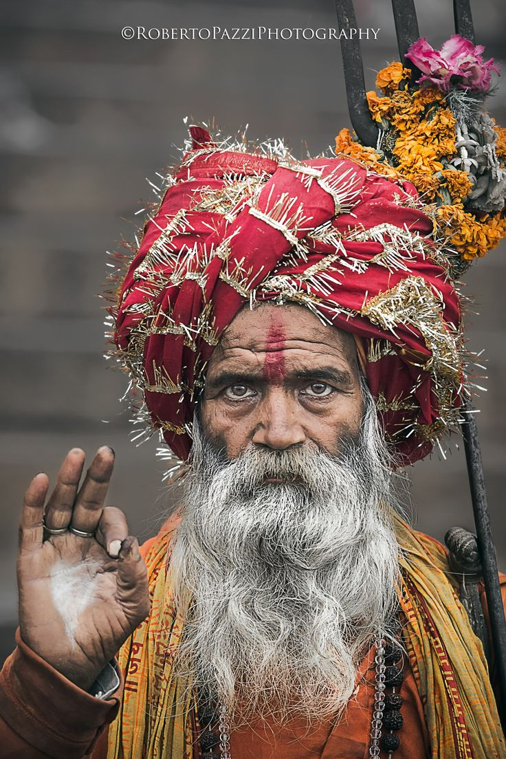 """A sadhu in Varanasi (India).  Visit http://robertopazziphotography.weebly.com, subcribe to the newsletter and download the ebook """"Streets of the World"""" as welcome gift!  Web Site: http://robertopazziphotography.weebly.com/ Facebook: Roberto Pazzi Photography Instagram: Roberto_Pazzi_Photography"""