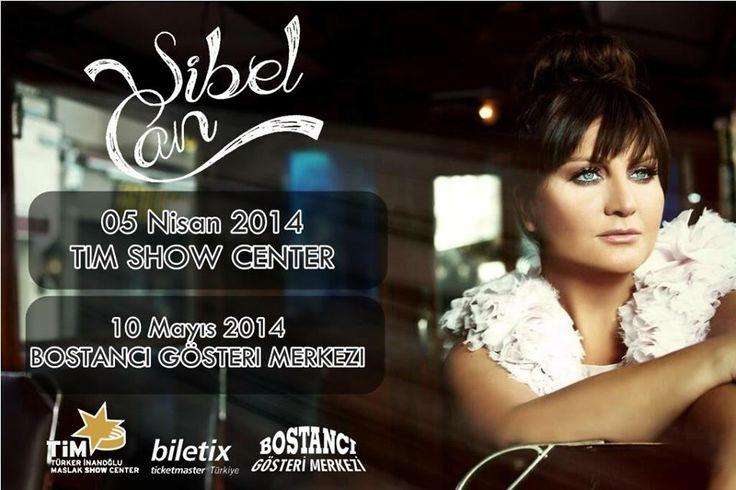 Sibel Can'dan 2 dev konser! Yeni albümü ''Galata'' ile 5 Nisanda Tim Show Center, 10 Mayısta Bostancı Gösteri Merkezinde sevenleriyle buluşacak.
