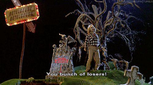 beetlejuice gifs images   Beetlejuice: You bunch of losers! - Beetlejuice: The Movie Fan Art ...