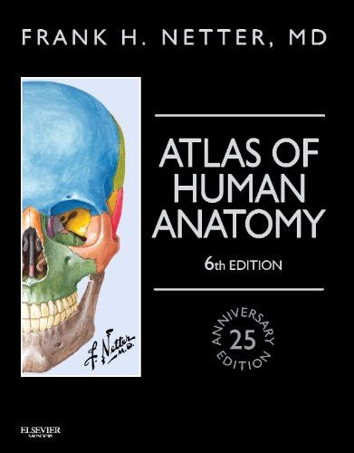 Atlas of Human Anatomy, Professional Edition: including NetterReference.com Access with Full Downloadable Image Bank, 6e (Netter Basic Scien