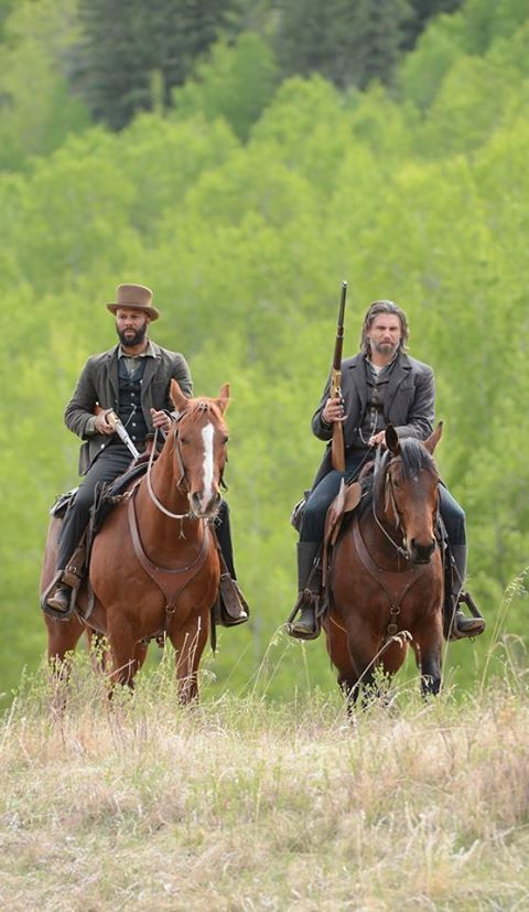 Common and Anson Mount in 'Hell on Wheels'