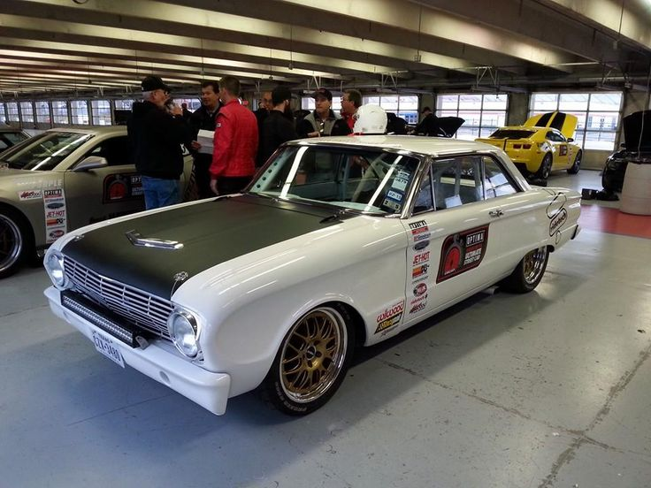 Aaron Kaufman's Gas Monkey Garage Fast N' Loud Ford Falcon is competing in the Ultimate Street Car Association event at Texas Motor Speedway