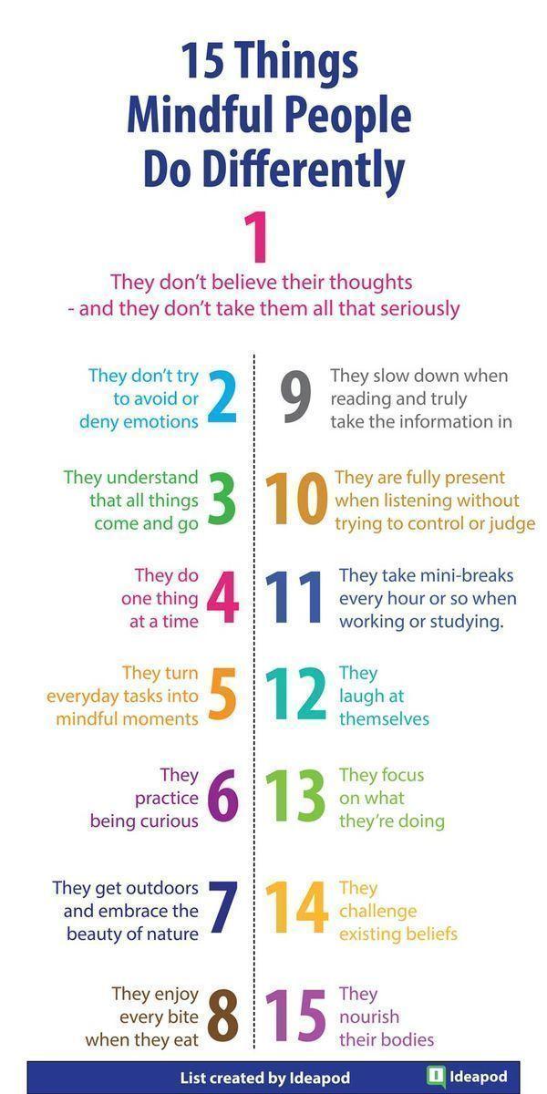 15 Dinge, die aufmerksame Menschen anders machen -…