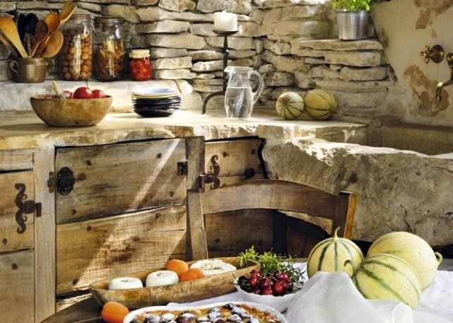 Decoraci n de cocinas r sticas for Amenagement cuisine provencale