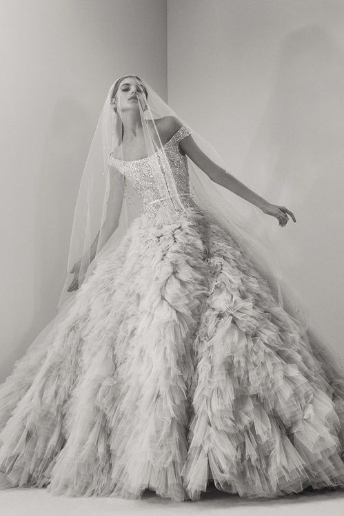Robe de mariée de la collection Elie Saab bridal 2017