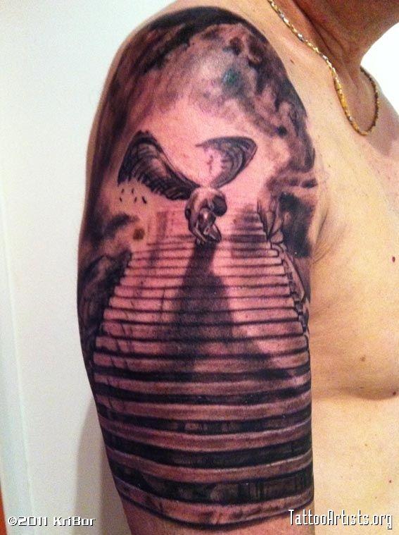 34 besten spiral stairway to heaven tattoo bilder auf pinterest himmel t towierungen himmel. Black Bedroom Furniture Sets. Home Design Ideas