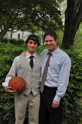 Athletic Director & senior student