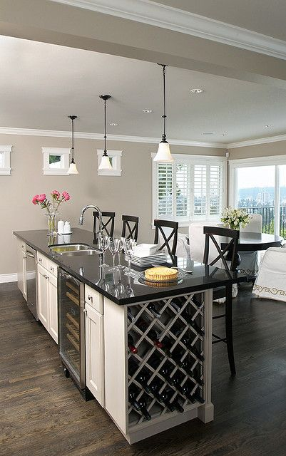 Superb Luxury Liberty Style Kitchen With Built In Wine Cooler U0026 Rack Live Youru2026
