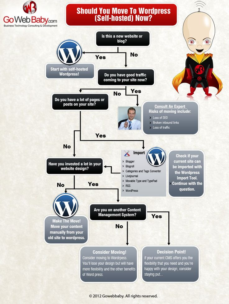 Why You Should Move To WordPress? An Infographic