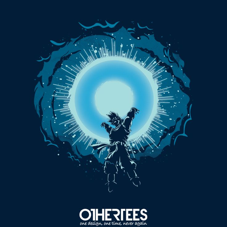 """""""Raise your Hands"""" by Olipop T-shirts, Tank Tops, Sweatshirts and Hoodies on sale until 7th October at www.OtherTees.com Pin it for a chance at a FREE TEE! #dragonball #dragonballz #goku #spiritbomb #othertees #anime #manga"""