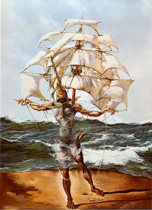 The Ship by Salvador Dali