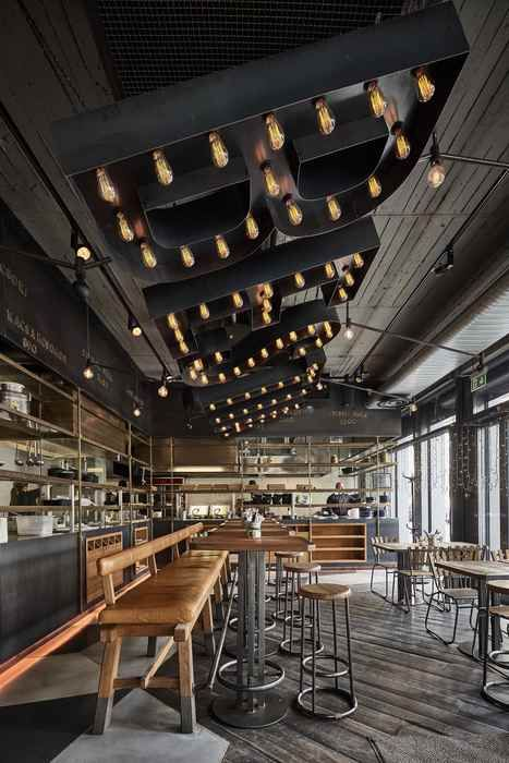 bestia budapest hungary surface interiors restaurant bar design awards