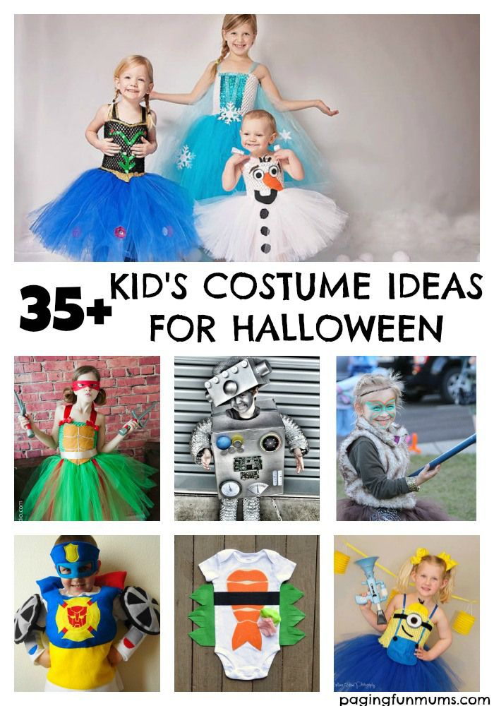 35+ Kid's Costume Ideas for Halloween - Clever Ideas!
