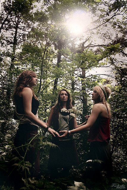 """""""""""Coven"""" is one of the names used to define a cohesive group of Witches who work and worship together on a regular basis. The word coven comes from the same root as the modern English word convene,..."""