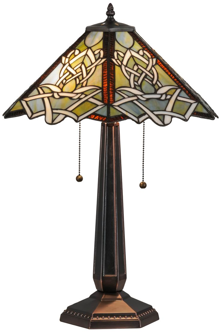 17 best pottery lamps images on pinterest artesanato craftsman meyda 245h glasgow bungalow table lamp arubaitofo Image collections