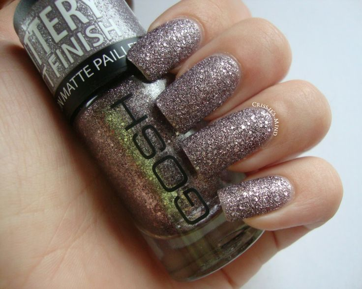 Crissie's Mind: NOTD: Frosted Nail Lacquer from GOSH Cosmetics + Review