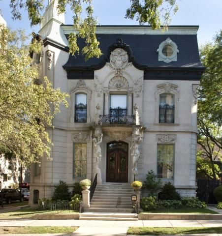You don't find workmanship like this very often--in 503 West Wrightwood Avenue, Chicago IL (Lincoln Park) 9,900,000. Sigh! (7 bd, 7 ba, 2 partial)