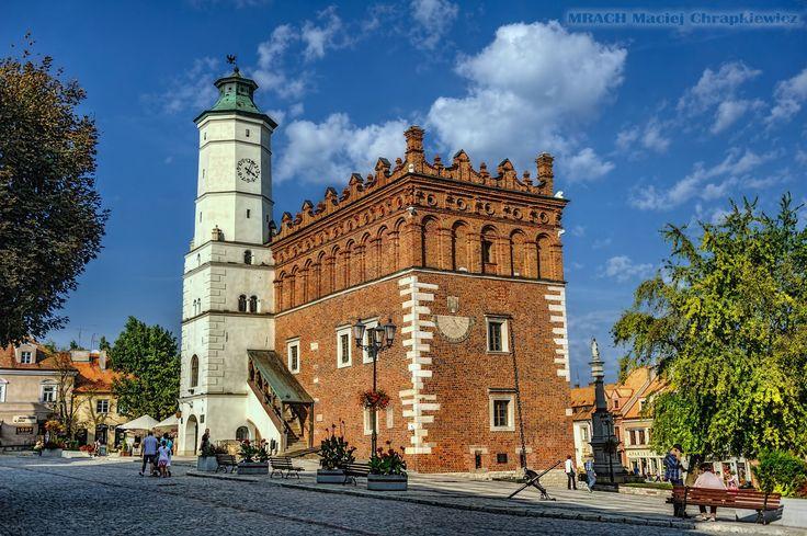 Sandomierz » Ratusz miejski w Sandomierzu » MRACH Fotografie