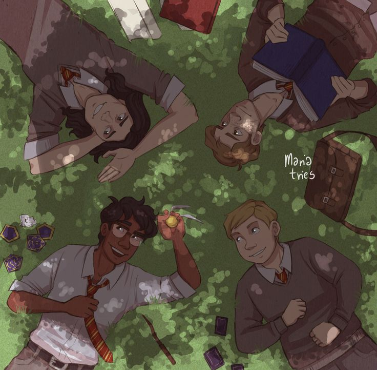 lazy last few days of school and summer in the air - the marauders