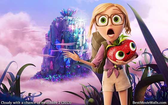 Cloudy With A Chance Of Meatballs 2 Sam And Berry Wallpaper Hd