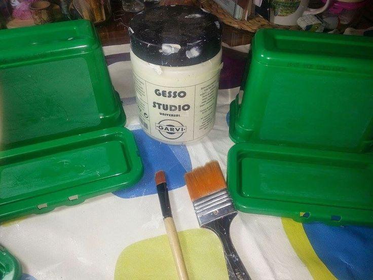 Tiempo y Lugar: Reciclando: de caja de detergente a cajitas vintag...