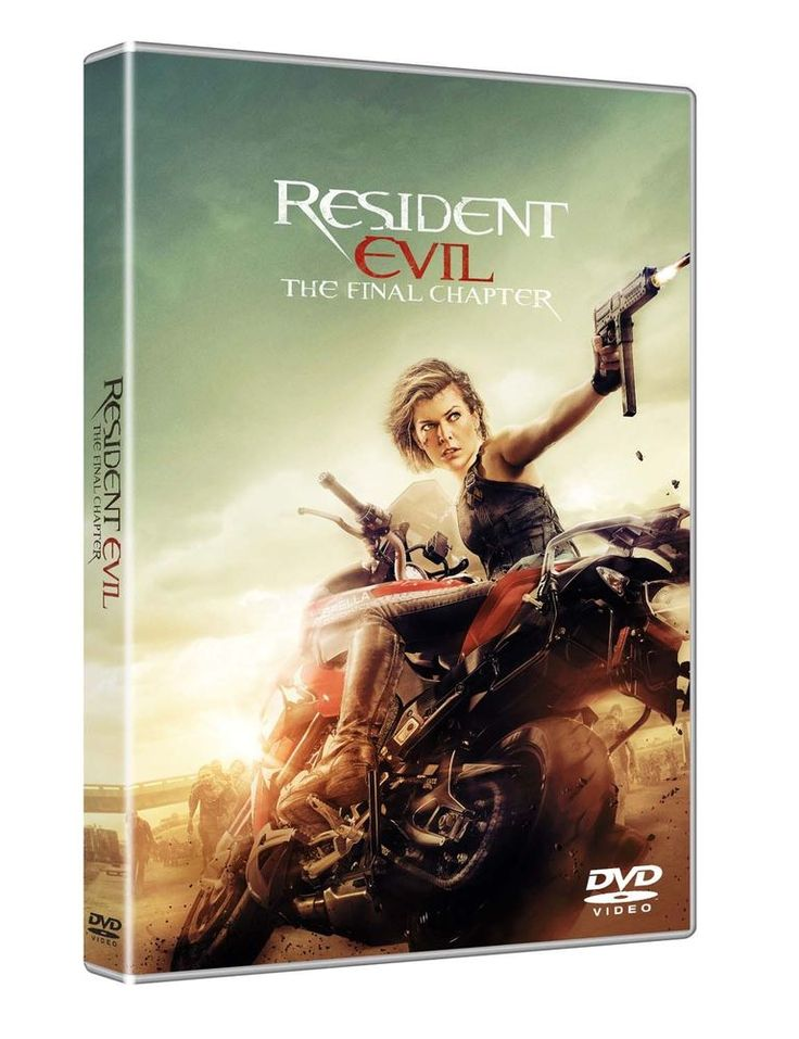 Resident Evil: The Final Chapter (DVD Nuovo)
